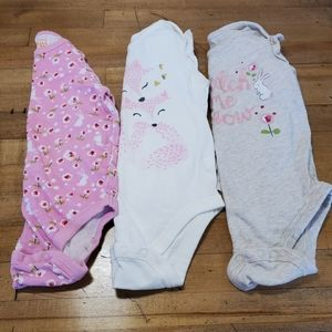 Jumping Beans LNG Sleeve onesies